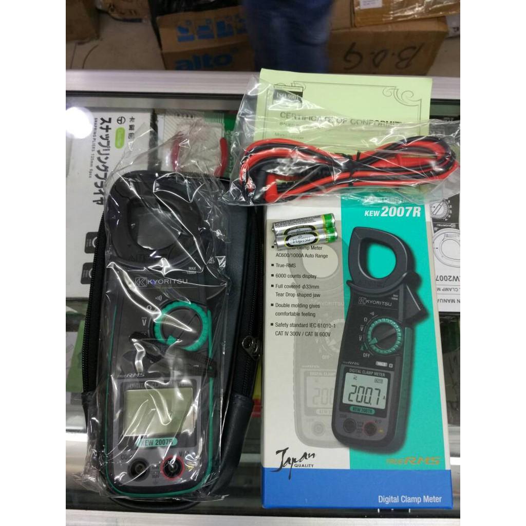 Kyoritsu Tang Ampere Digital Clamp Meter Kew Snap 2117r 1000 A 2040 2007r Clam Shopee Indonesia