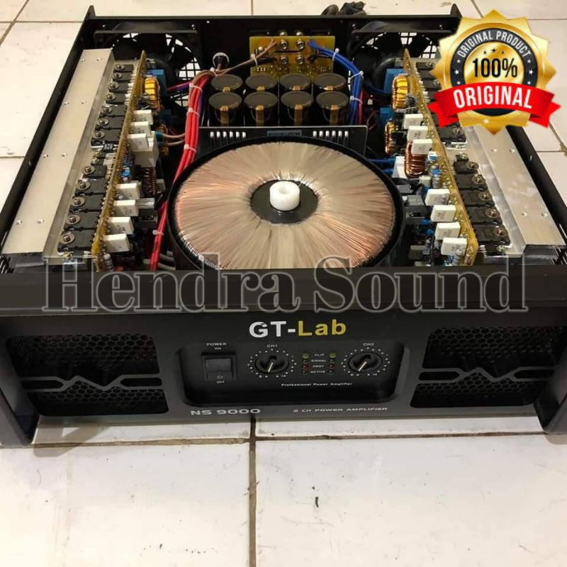 Power Amplifier RDW GT Lab NS 9000 Class TD