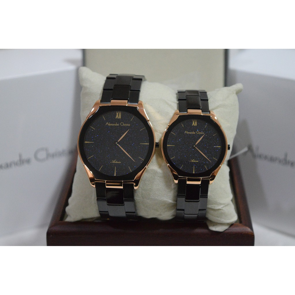 Alexandre Christie Ac 6141 Gold Black Plat White For Men Original Ac6141 Silver Man Shopee Indonesia