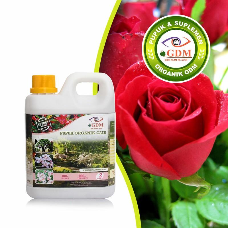 Gdm Pupuk Bunga Mawar Organik 1liter Shopee Indonesia