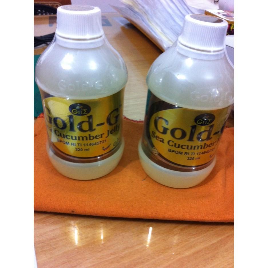 Jelly Gamat Gold G Shopee Indonesia Best Seller 500m Emas