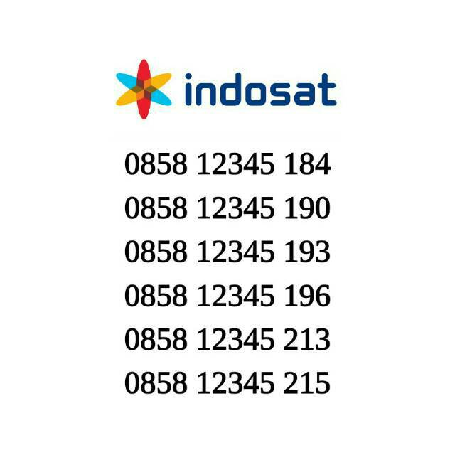Kartu Perdana Indosat Nomor Cantik Im3 Nomer Cantik Seri Naik 12345 xxx | Shopee Indonesia