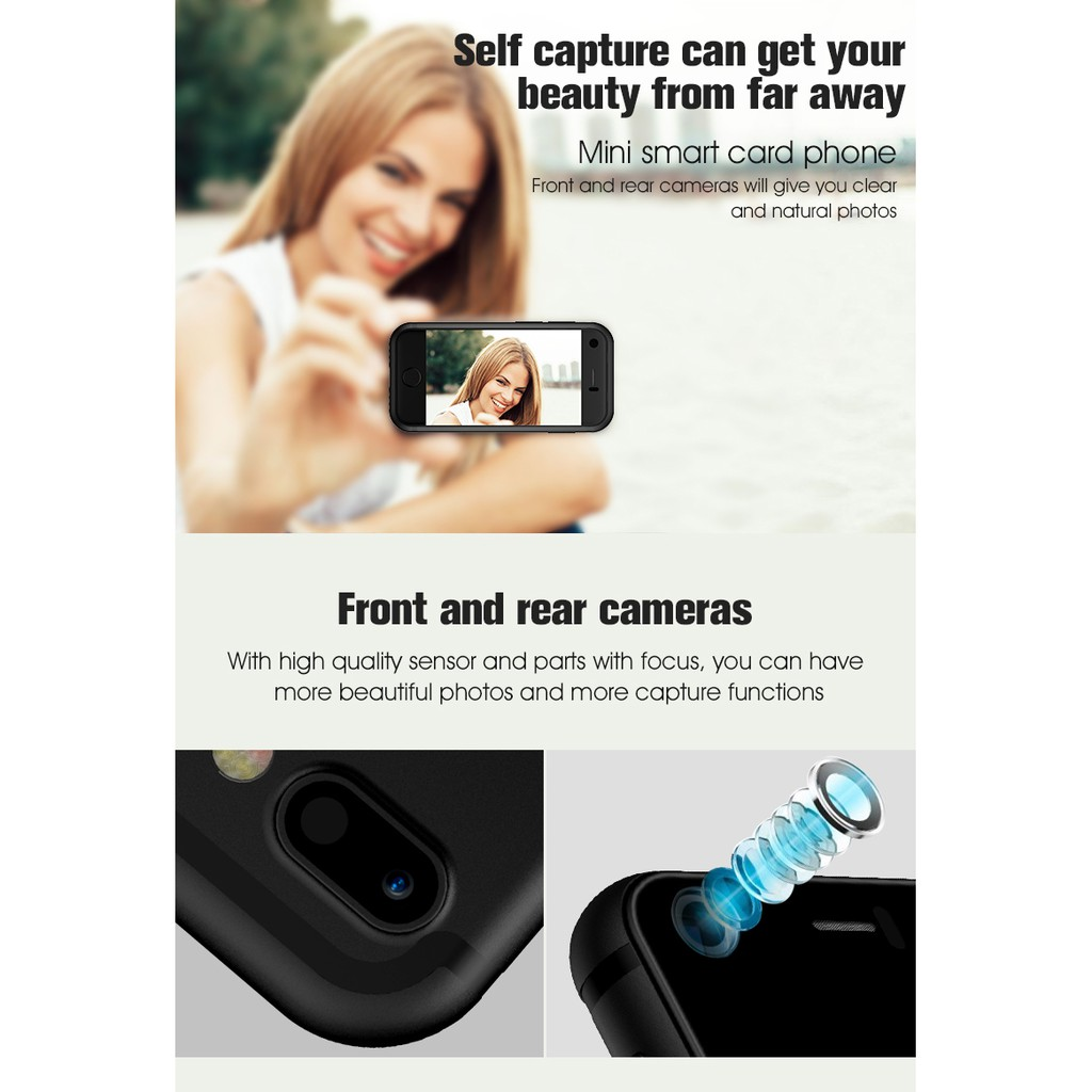 Mini Handphone Android Dual SIM Card Quad Core - Mirip ...