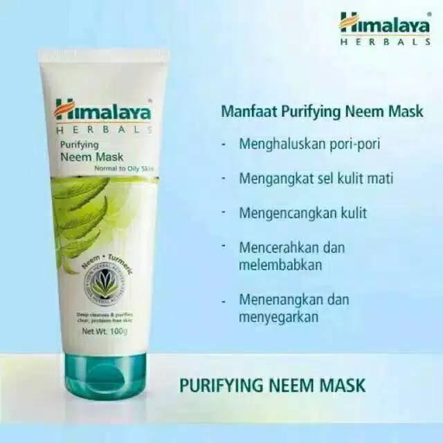 Bisa Cod Himalaya Purifying Neem Mask Neem Scrub 50ml 100 Ml Shopee Indonesia