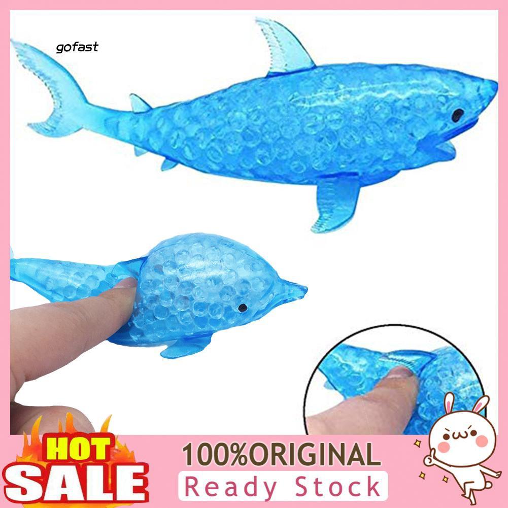 Fast Mainan Squishy Ikan Lumba Lumba Hiu 16cm Slow Rising Untuk Anak Dewasa
