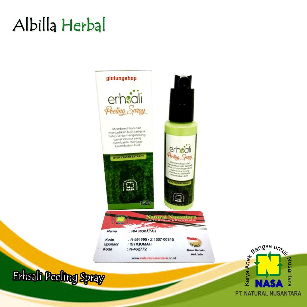 ERHSALI Brightening Soap Original PT. NASA Belum Ada Penilaian | Shopee Indonesia