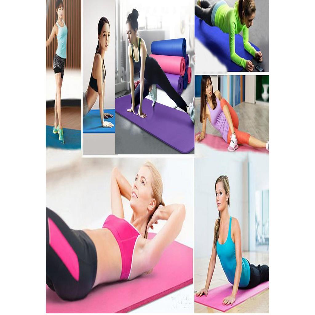 60cm Yoga Roller Eva Foam Massage Fitness Murah Import Duo Sixpack Abs Wheel Binaraga Roda  Grosir Bonus Tas Shopee Indonesia