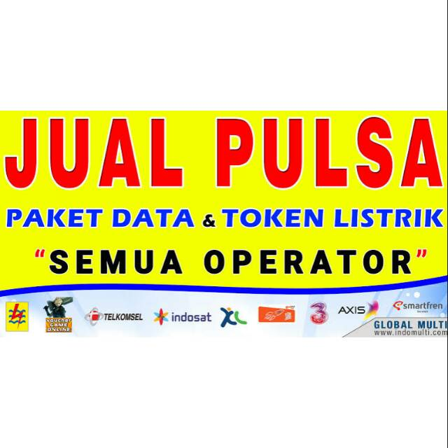 Pulsa All Operator Paket Data Internet Token Listrik Shopee Indonesia