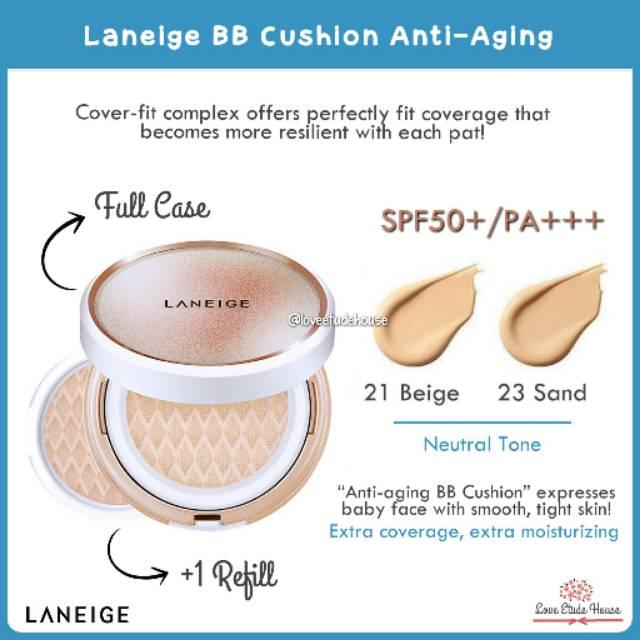 Laneige Bb Cushion Anti Aging Spf50 Pa