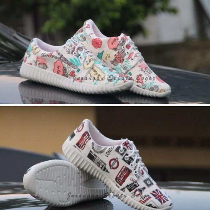 Sepatu Kets Sneakers Paris Bisa Couple Ibu Dan Anak Shopee