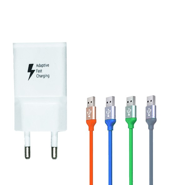 ADAPTOR FLECO FAST CHARGING QUALCOMM2.0 BONUS= RUBBER MICRO USB | Shopee Indonesia