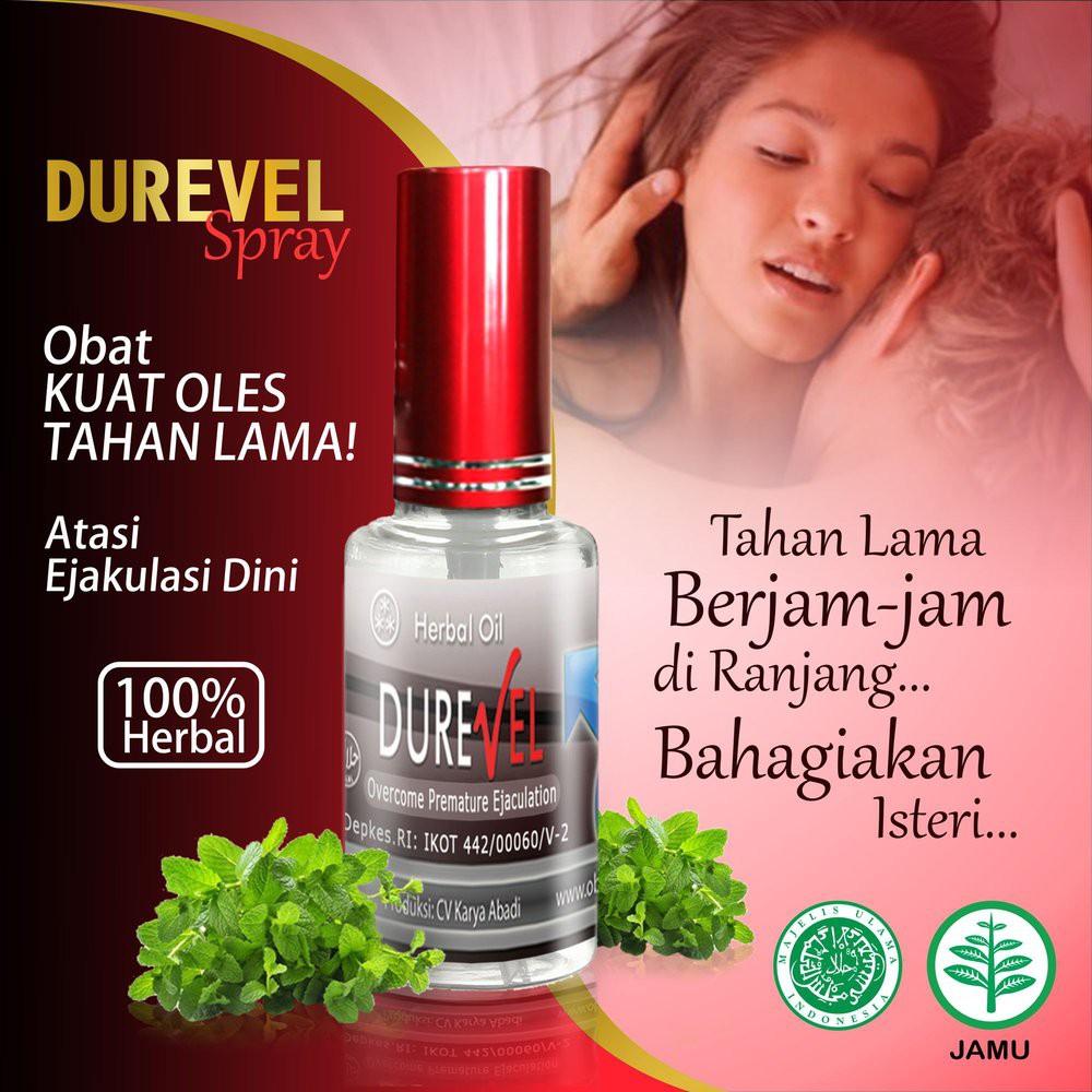 DUREVEL Herbal Pendongkrak Stamina Pria - Ready Stock | Shopee ...