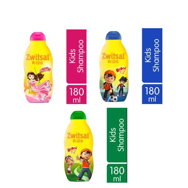 ZWITSAL Kids Shampoo Fresh & Clean Natural Green Beauty Pink 180 ml