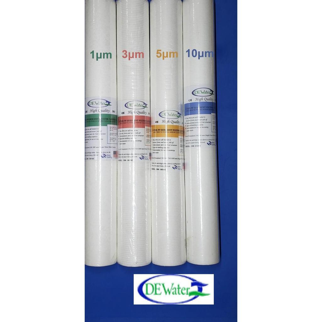 ª Sale Dewater Filter Cartridge 20 1 3 5 10 Um ª Shopee Indonesia