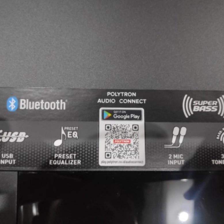 Polytron Speaker Aktif PAS8E12 PAS 8E12 Bluetooth USB Promo