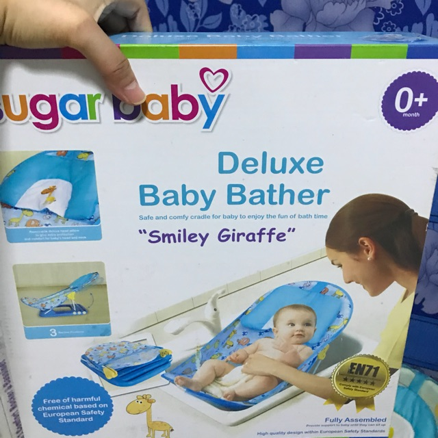 Sugar baby deluxe baby bather .