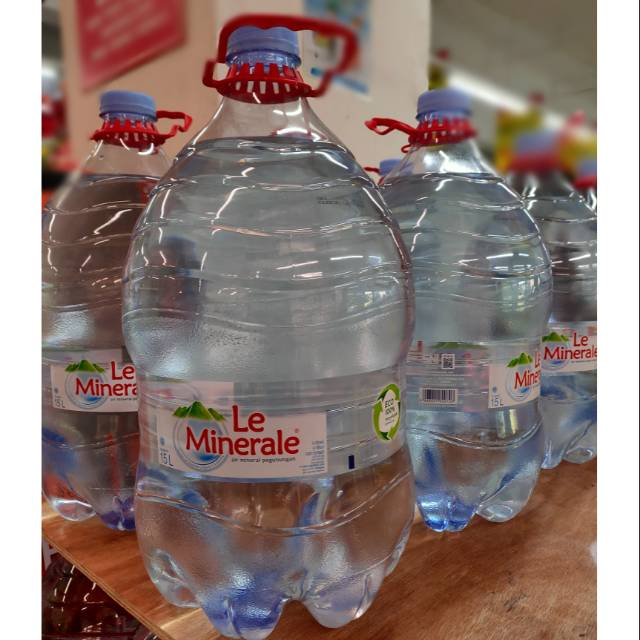 Galon Le Minerale 15 Liter Le Minerale Galon Air Mineral 15 Liter Murah Shopee Indonesia