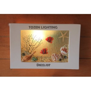 Lampu Dinding Kapur/Gypsum D822/137