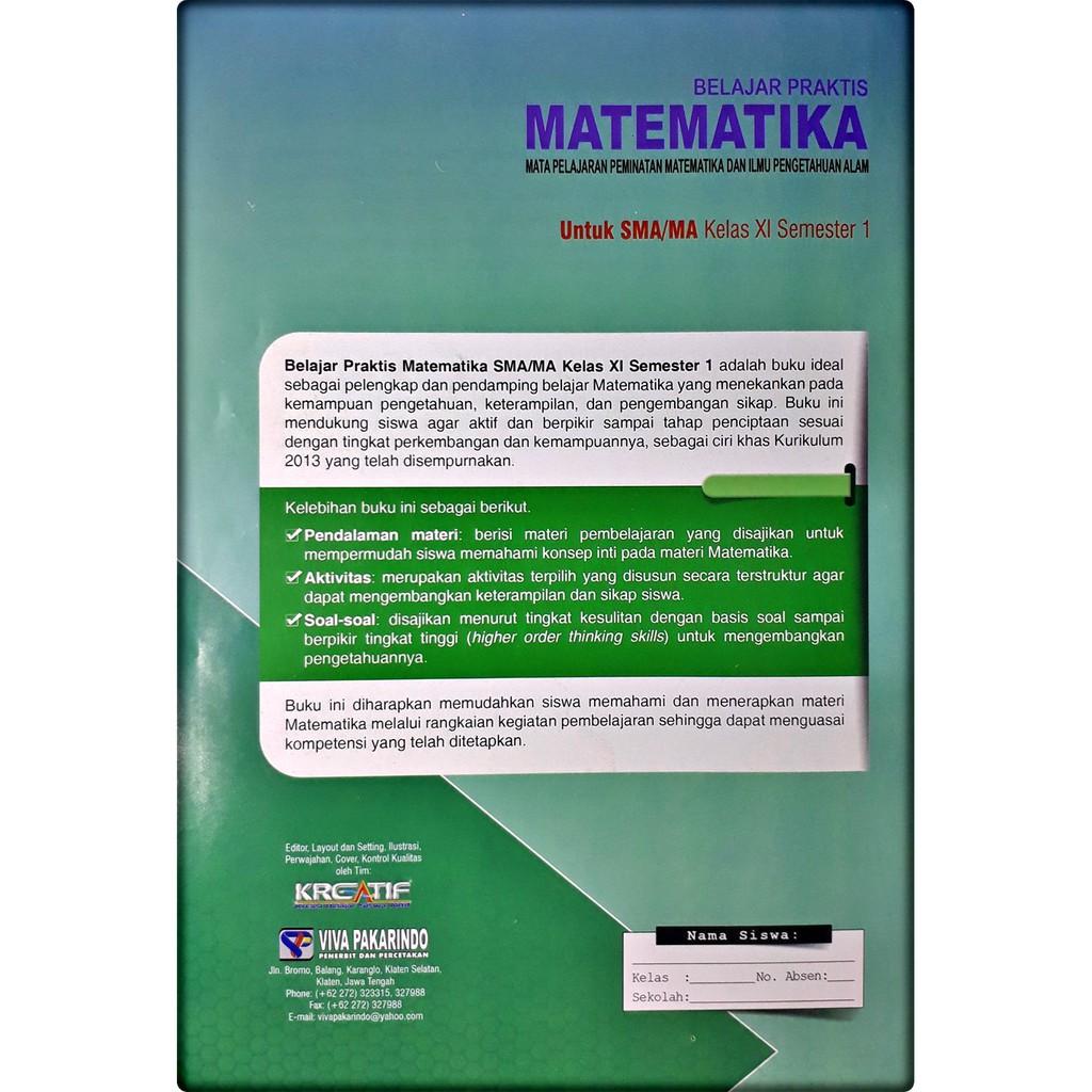Kunci Jawaban Matematika Kelas 11 Semester 2 Kurikulum 2013 Guru