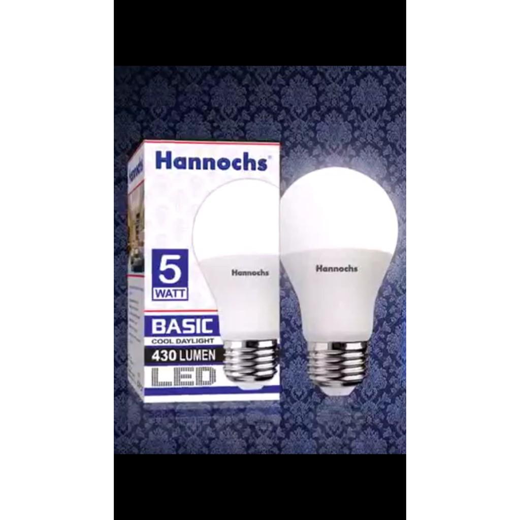 Lampu Led Hannochs Basic 3w 3 Watt Shopee Indonesia Premier