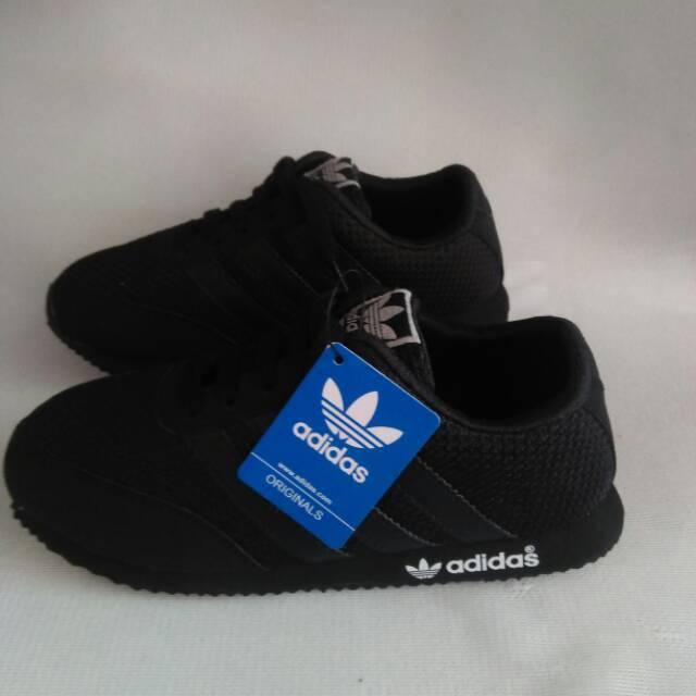 Sepatu Adidas Anak Snekers Sekolah Laki Perempuan Tk Sd Smp Cewe