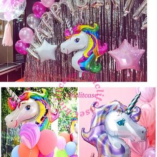 "Anagram Rainbow Unicorn Supershape Foil Jumbo XL Balloon 33/"" x 29/"""