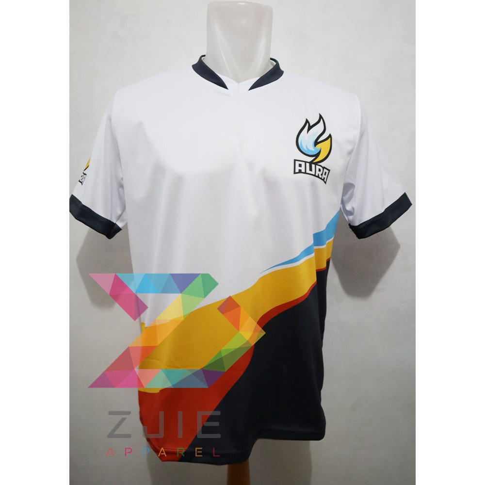 Jersey Kaos Baju Gaming Aura Mlbb Pubgm Ff Free Nick Shopee Indonesia