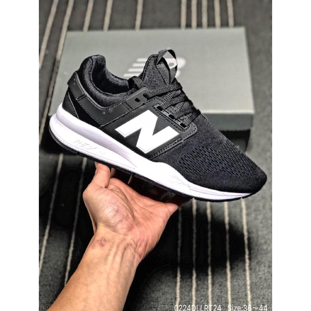 Sepatu Sneakers Desain New Balance 247 Pria / Wanita Bahan Mesh Breathable Warna Warni 3rd