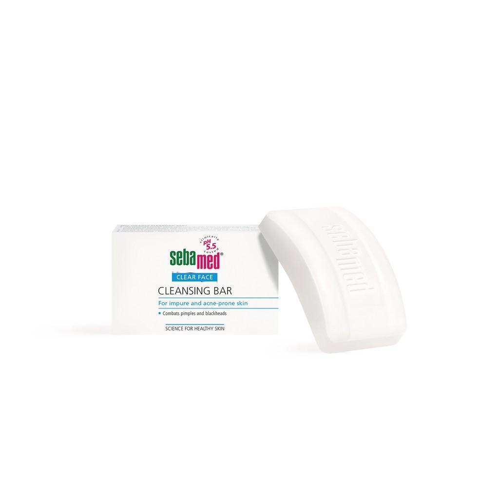 Sebamed Clear Face Cleansing Bar 100 Gr Sabun Mandi Kulit Berjerawat Acnes Foaming Wash Muka Khusus Wajah Jerawat Batang Cuci Untuk Mengurangi Dan Komedo 100gr