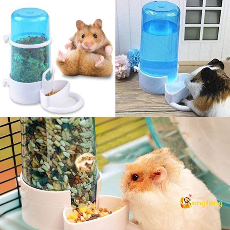 Tempat Makan Minum Hewan Peliharaan Kecil Otomatis Untuk Hamster