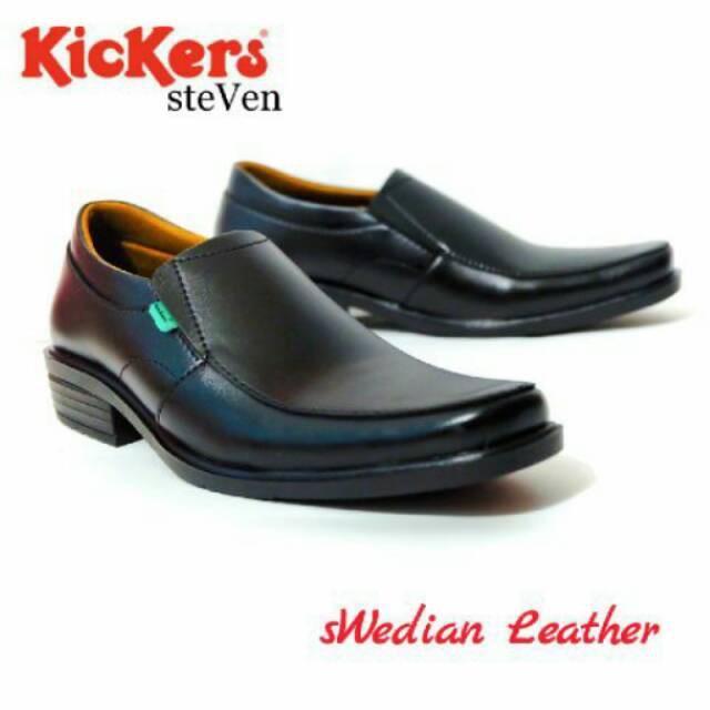 MADE IN INDONESIA LOKAL VERSI IMPORT PREMIUM ORIGINAL NB / Sepatu Pantofel Kickers Steven F