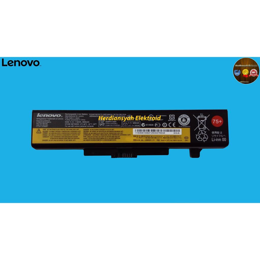 Lenovo Original Baterai Notebook Laptop G400s G405 G410 G480 G485 Battery Batre S410p G405s G410s Z710p S510p G500s G510s Oem G500 G505 G510 G580 G585 G700 G710 M490