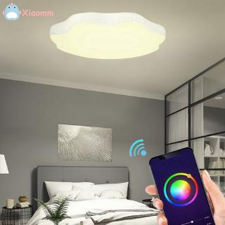 Zღz 60w Octagon Wifi Voice Control Home Rgb Dimming Smart Ceiling Light Shopee Indonesia