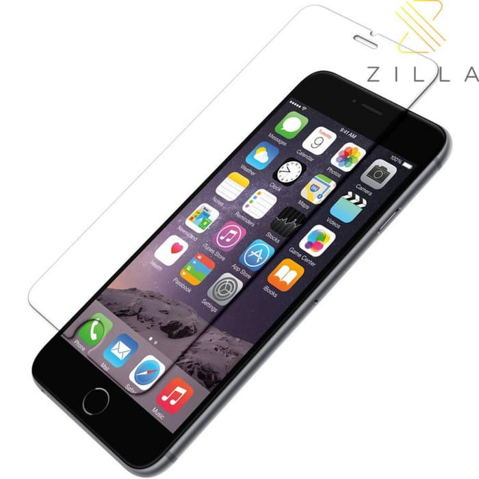 Laris Zilla 2.5D Tempered Glass Curved Edge 9H 0.26mm iPhone 6/6s Plus