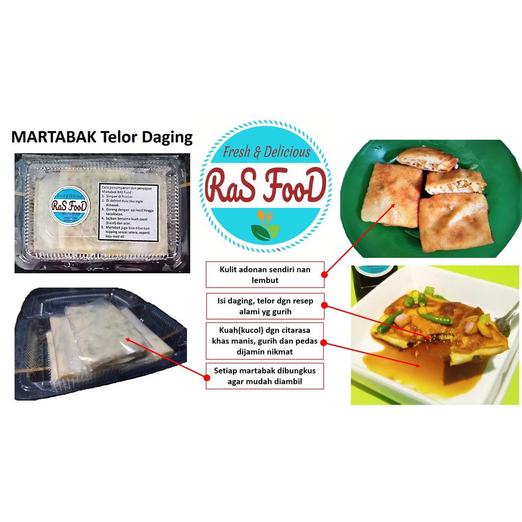 MARTABAK Telor & Daging Frozen, RAS FOOD Jatiasih Bekasi