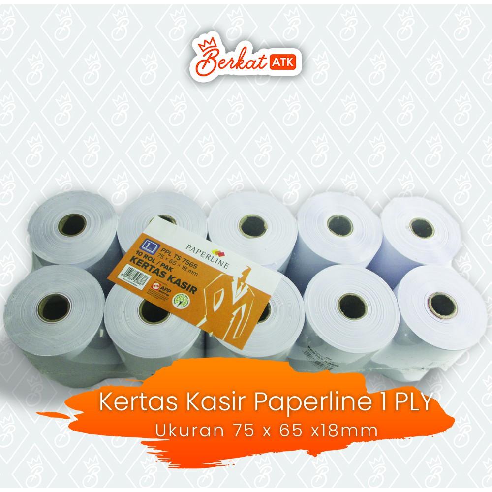 Kertas Kasir 1 Ply PPL TS 7565 Ukuran 75 x 65 x 18 (PCS)