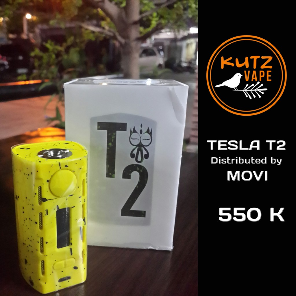 Cuci Gudang Tesla Wye T2 Movi 200 W Electrical Box Mod Teslacigs Authentic Shopee Indonesia
