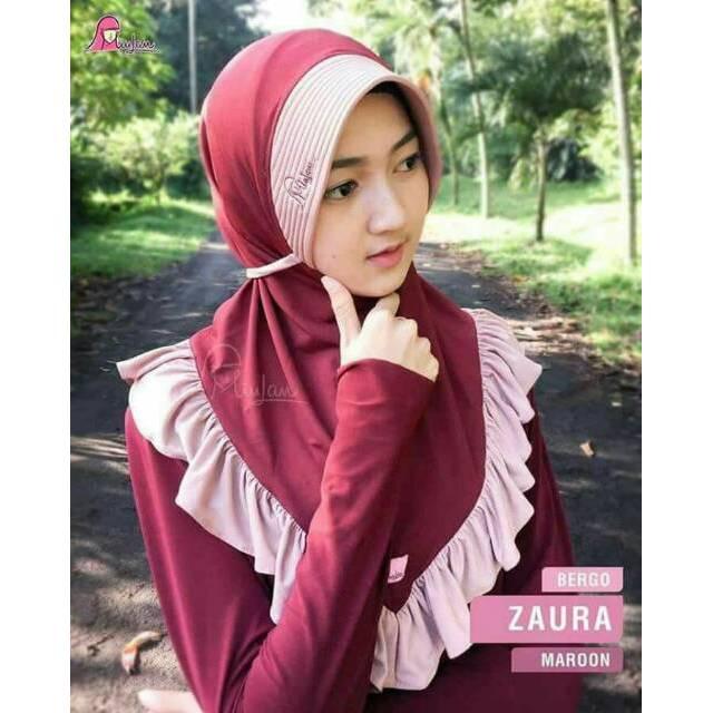 Jilbab Kerudung Dewasa Bergo Zaura Miulan Bergo Miulan Jilbab Miulan Kerudung Hijab Shopee Indonesia