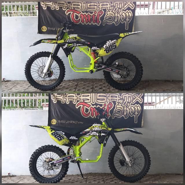 Paket Modif Trail Tanpa Mesin Model Klx Gordons Kaki Kaki Thailand Josss Shopee Indonesia