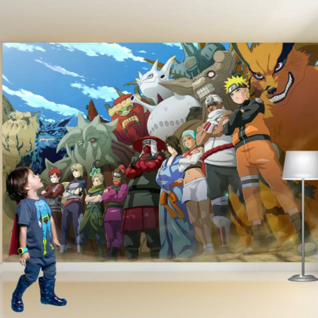 Wallpaper Custom 3d Naruto Shopee Indonesia
