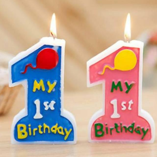 Lilin Ulang Tahun Tulisan Happy Birthday Warna Warni 076 | Shopee Indonesia
