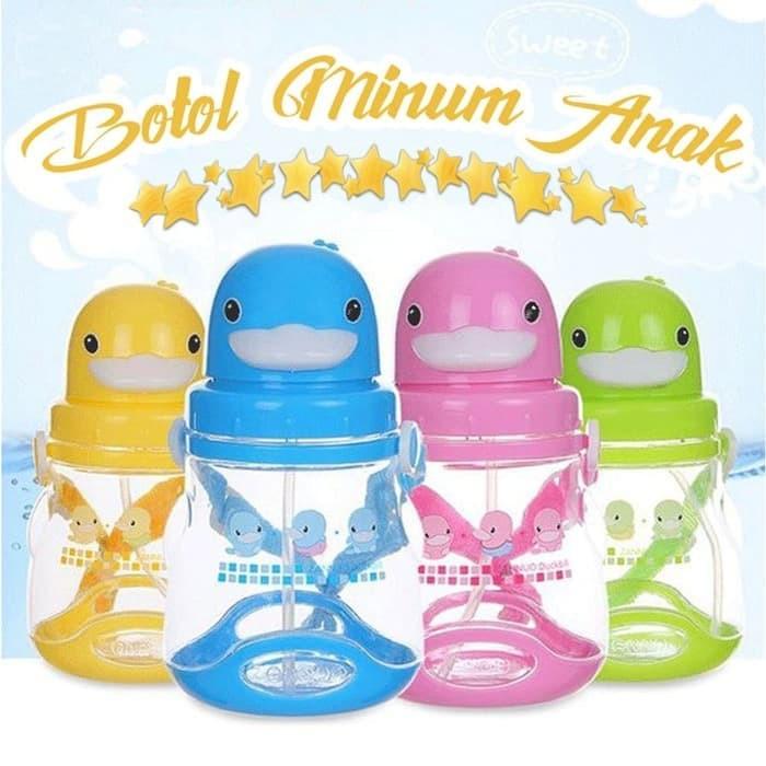 R3C173 Botol Minum Anak Karakter OWL BPA Free - Water Bottle 540ml B005 | Shopee Indonesia