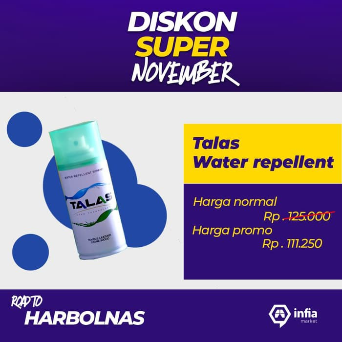 Ready Talas Waterproof Spray | Water Repellent Spray Anti Air Dan Noda 125 K 89 | Shopee Indonesia