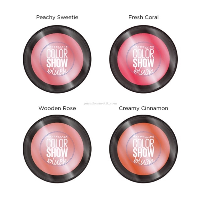 MAYBELLINE blush on COLOR SHOW BLUSH STUDIO CHEEKY GLOW ORIGINAL | Shopee Indonesia