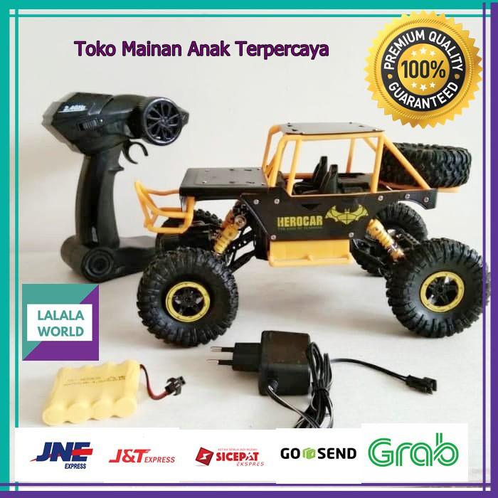 Mainan Anak Laki Laki Mobil Remote Control Mobil Remot Control Rc Batman Rock Crawler Mobil Mobilan Shopee Indonesia