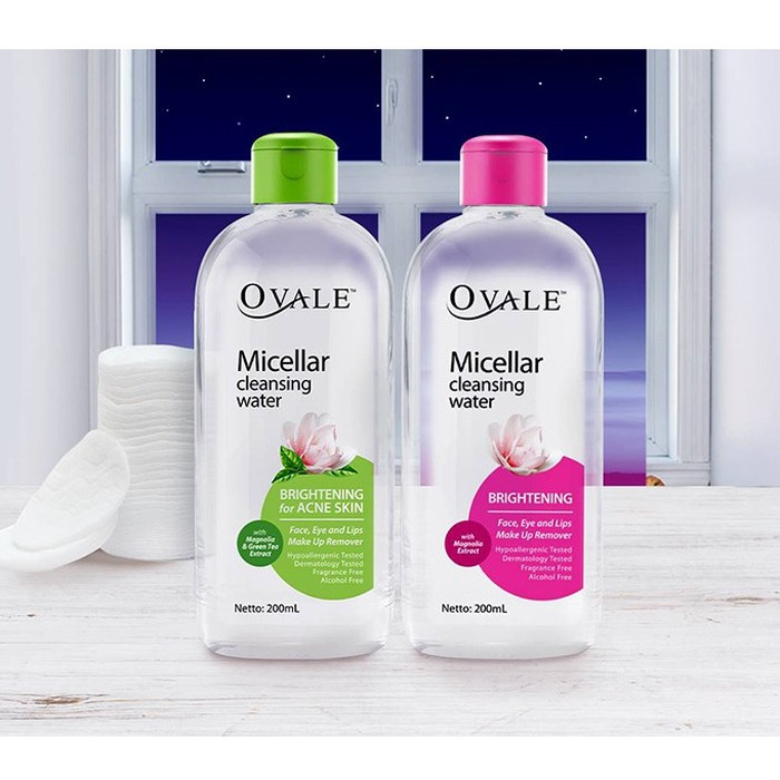 Ovale micellar cleansing water 100ml /PIORASHOP | Shopee Indonesia