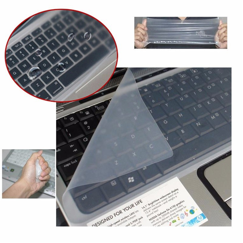 10.0/12.0/14.0/15.0 inch Universal Silicone Keyboard Protector cover for laptop-1