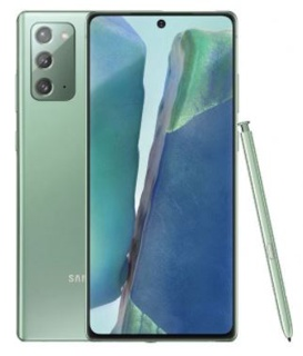 Samsung Note20 256 GB Mystic Green