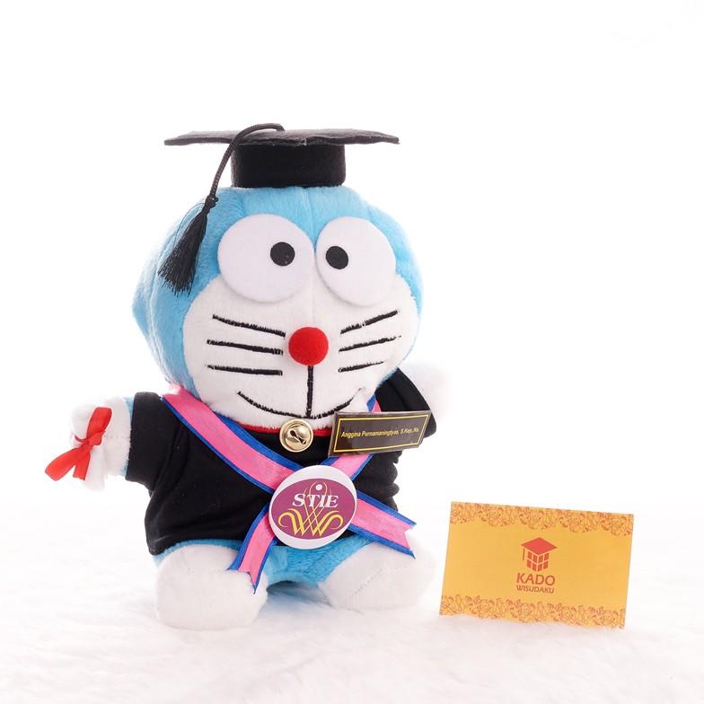 Paket Hemat Kado Boneka Wisuda dan Bunga Flanel  901adcbb6e