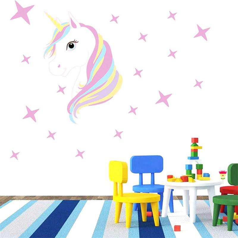 35+ Ide Wallpaper Kamar Anak Unicorn - Feiwie Dasmeer